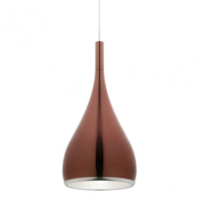 Aero 1 Light Pendant Rose Gold