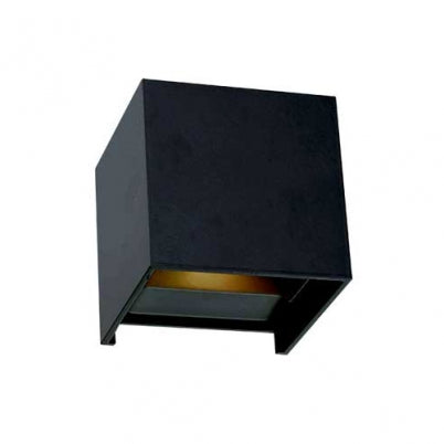 Flip Black Cube LED Wall Exterior Highlighter