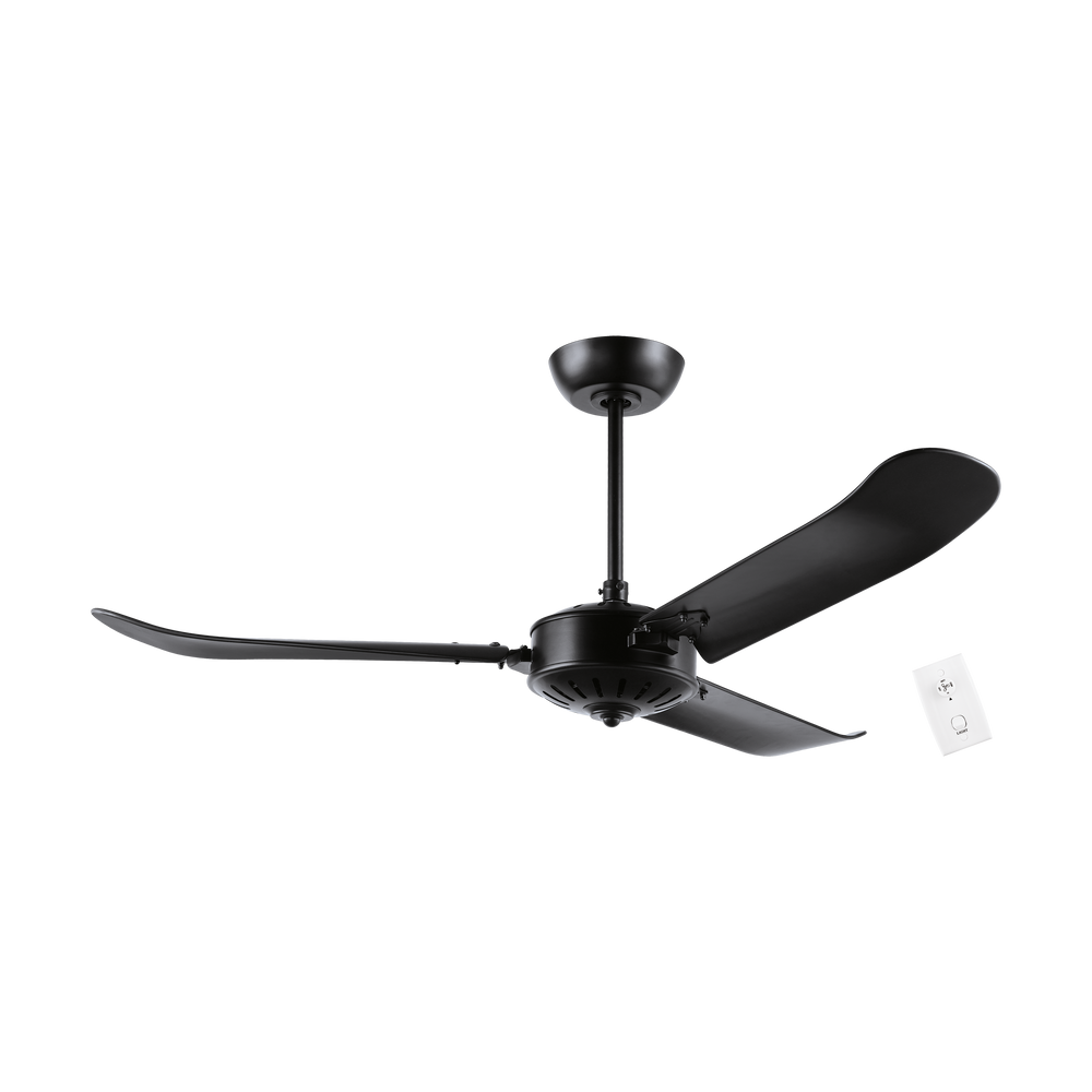 Hoi An Matt Black 137cm AC Motor Ceiling Fan