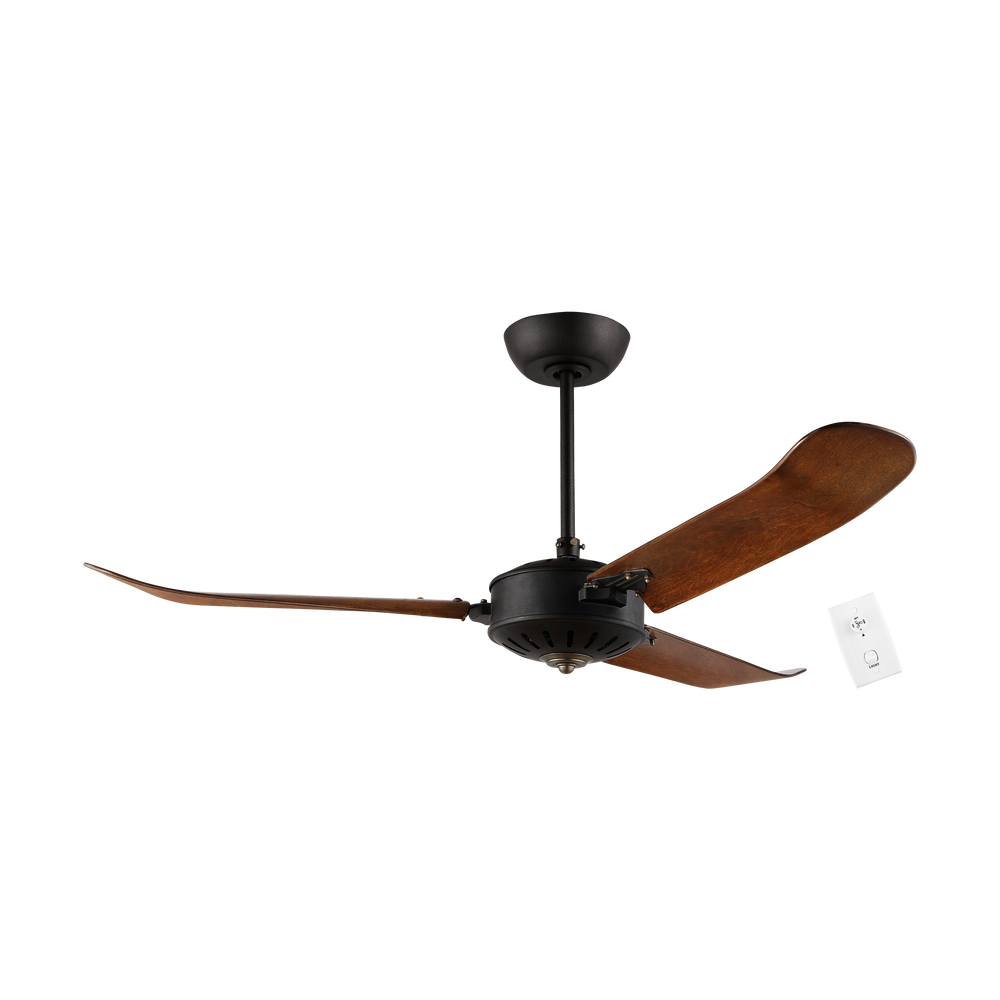 Hoi An Distressed Oak 137cm AC Motor Ceiling Fan