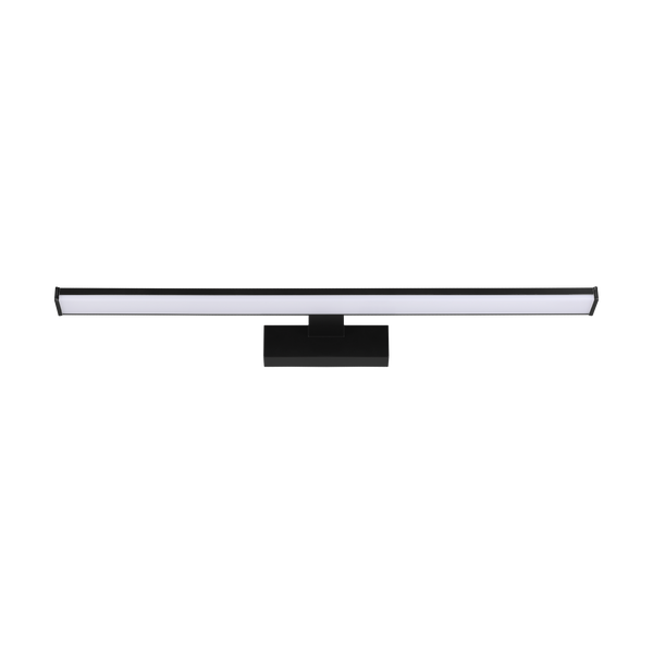 Pandella 60cm Black Rectangular Bloc Vanity Wall Light