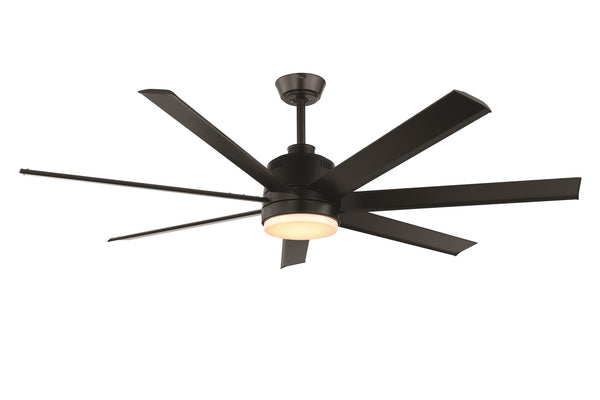 Tourbillion Black 203cm DC Motor Ceiling Fan