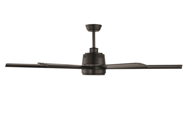 Tourbillion Black 152cm DC Motor Ceiling Fan