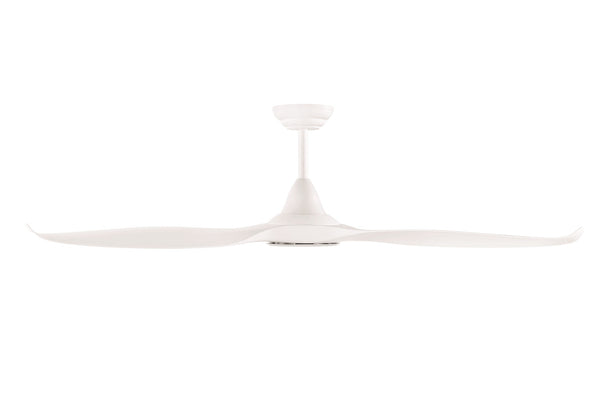 Noosa 152cm White DC Motor Ceiling Fan with LED Light