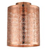 Bocal Brushed Copper DIY Drum Shade Batten Fix