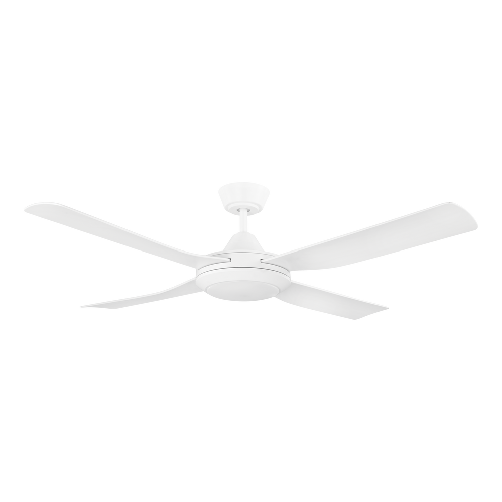 Bondi 52 LED White ABS Blades 132cm AC Motor Ceiling Fan with Light