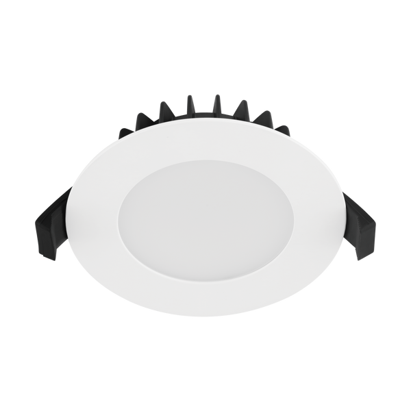 Roystar 12wt Flat Tri-colour LED downlight  White