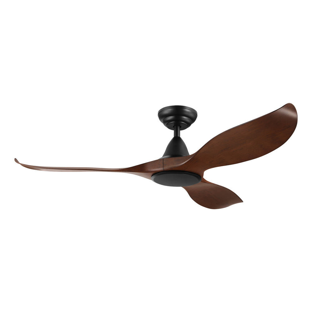 Noosa 132cm Aged Elm and Black DC Motor Ceiling Fan