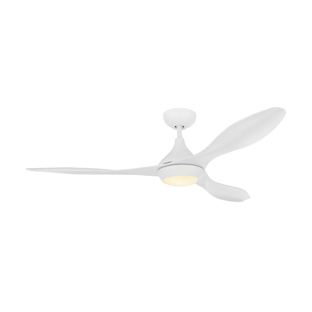 Nevis II White DC Motor Ceiling Fan with LED Light
