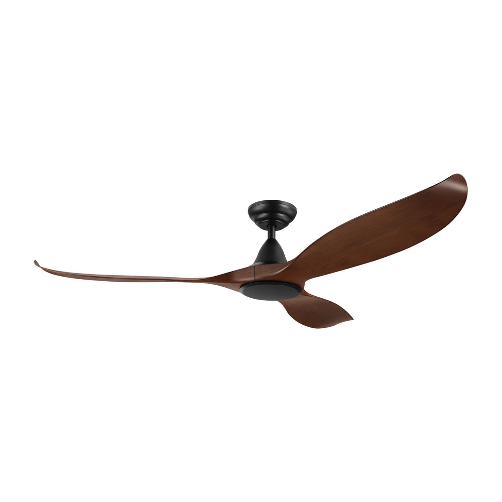 Noosa 152cm Aged Elm and Black DC Motor Ceiling Fan