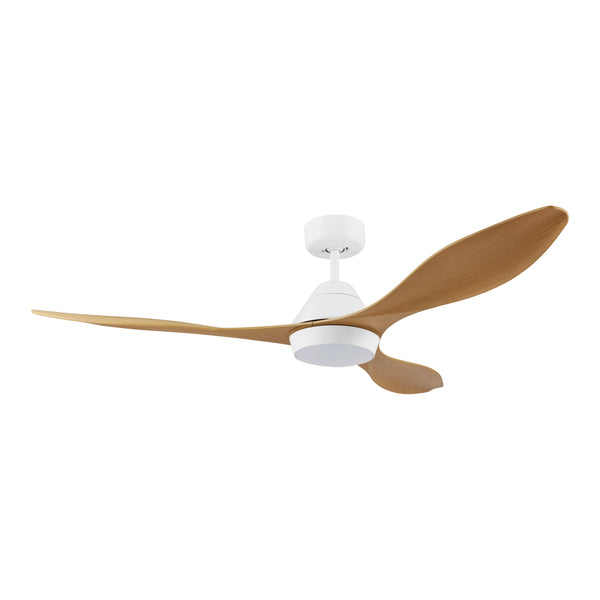 Nevis Bamboo DC Motor Ceiling Fan with LED Light