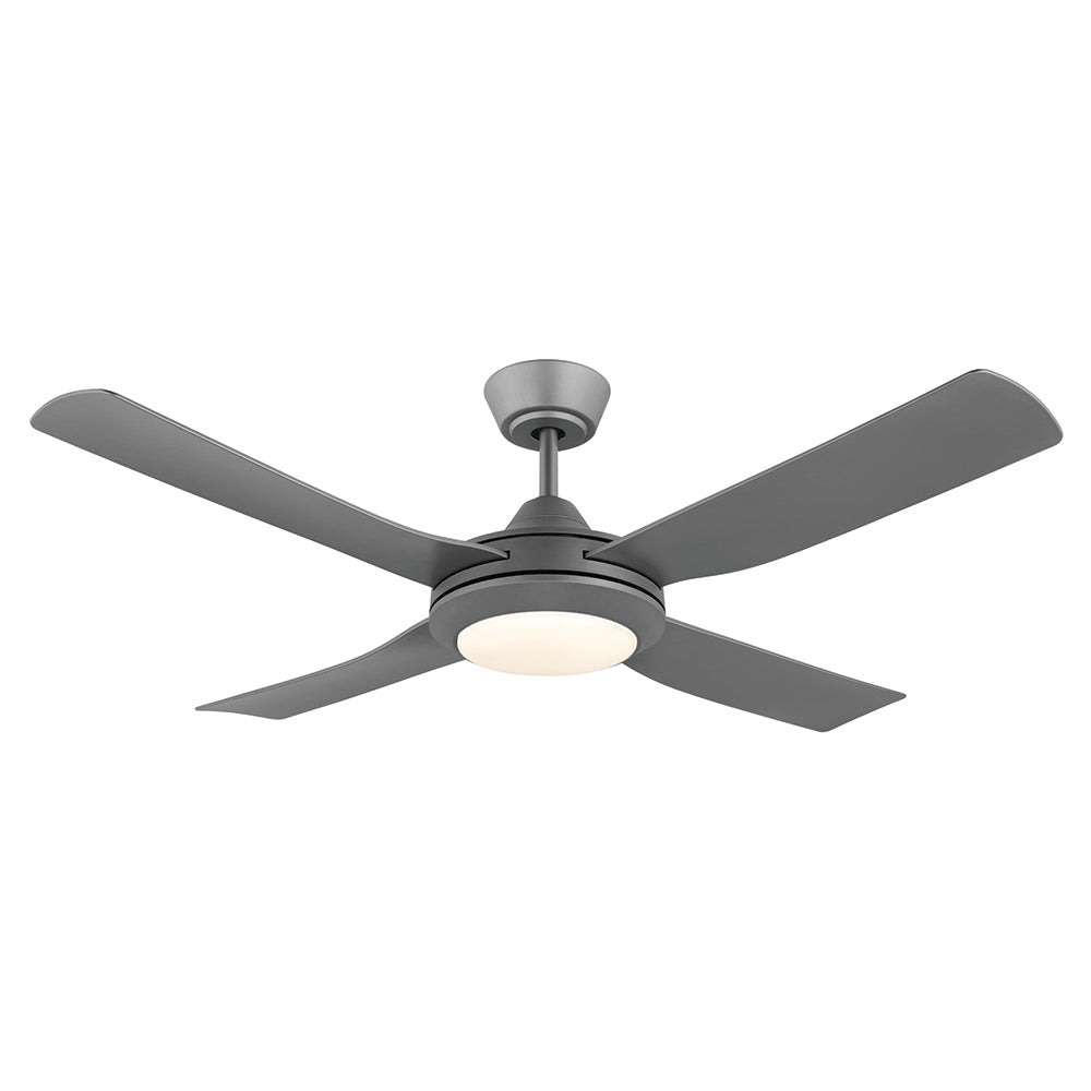 Bondi 48 LED Titanium ABS Blades 122cm AC Motor Ceiling Fan with Light