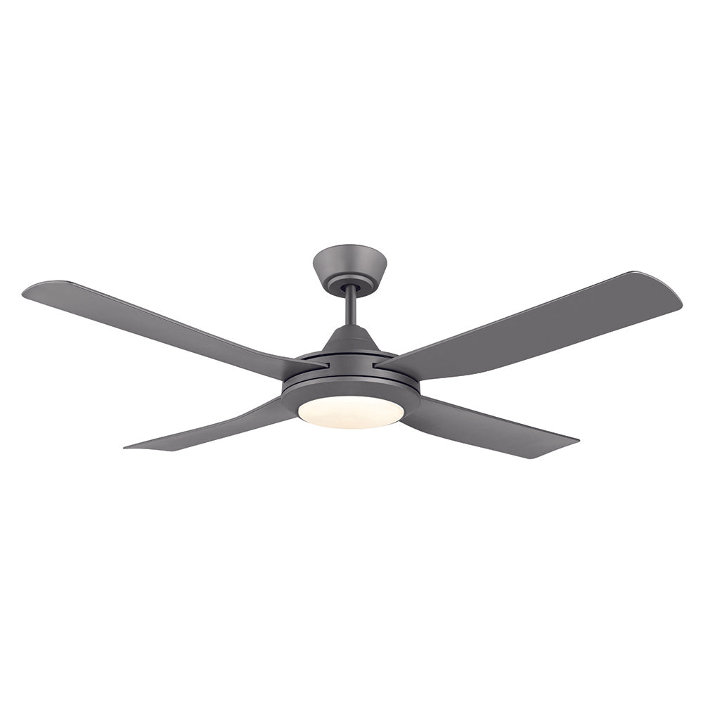 Bondi 52 LED Titanium ABS Blades 132cm AC Motor Ceiling Fan with Light