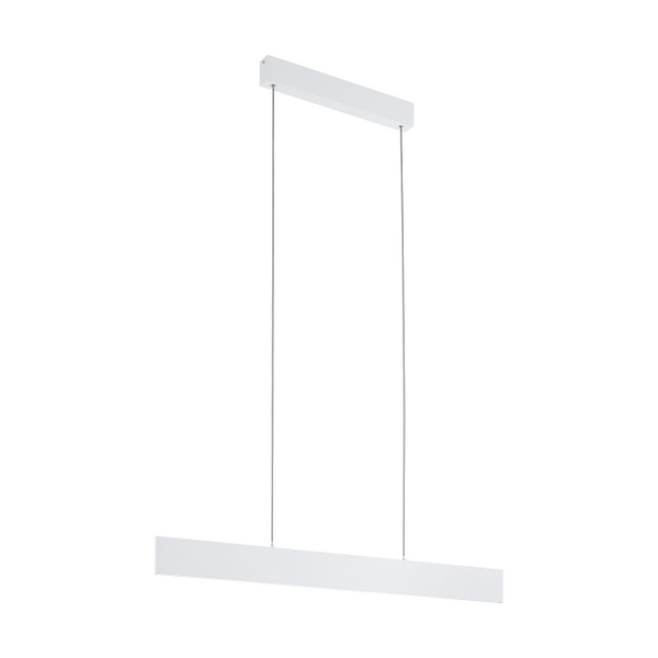 EO 39263 95cm White Panel Linear LED Strip Pendant