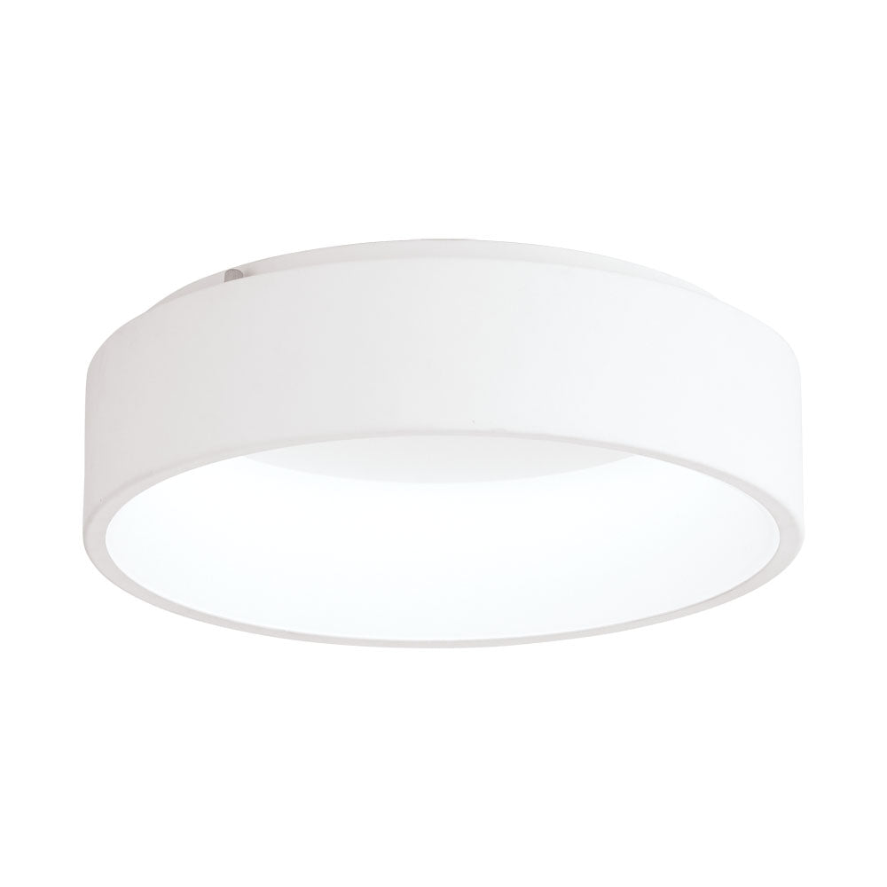 Marghera  25wt  Led ceiling oyster white.