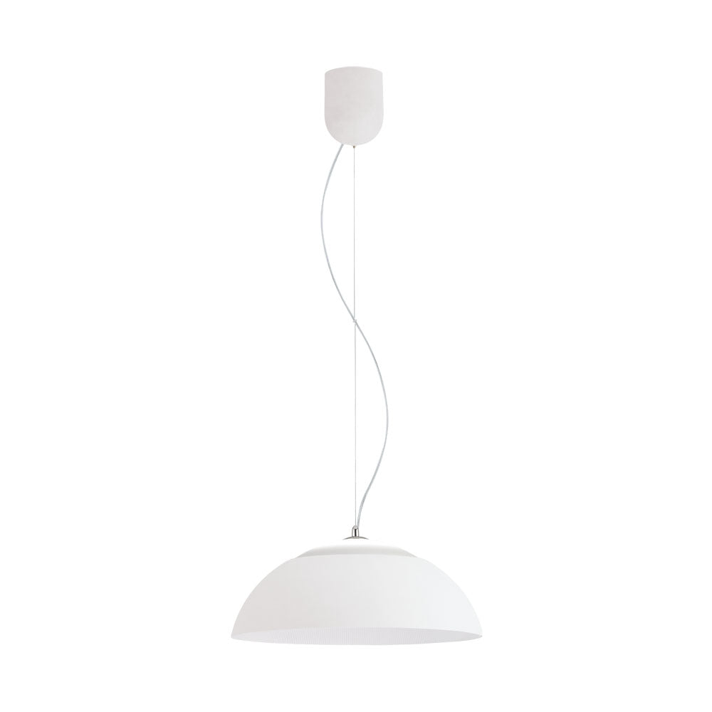 Marghera  650 Dome Pendant Led  white.