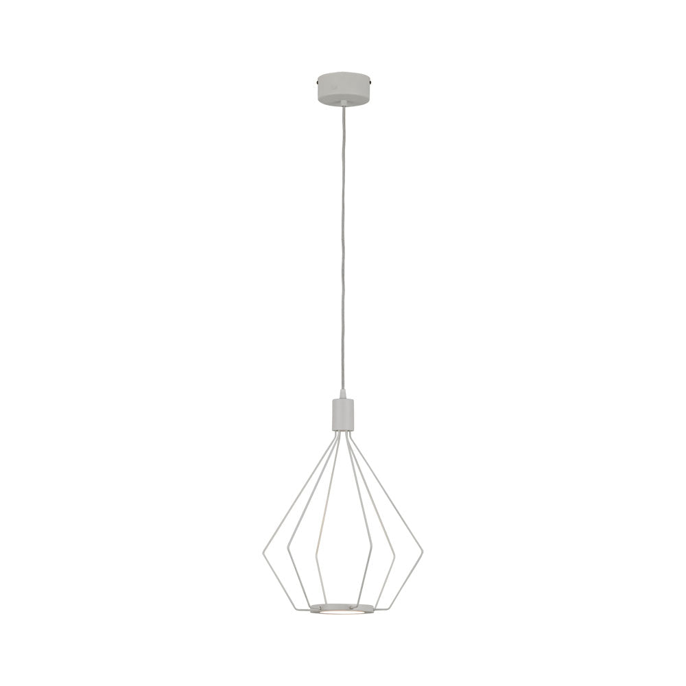 Cados 335 White Led Cage Pendant