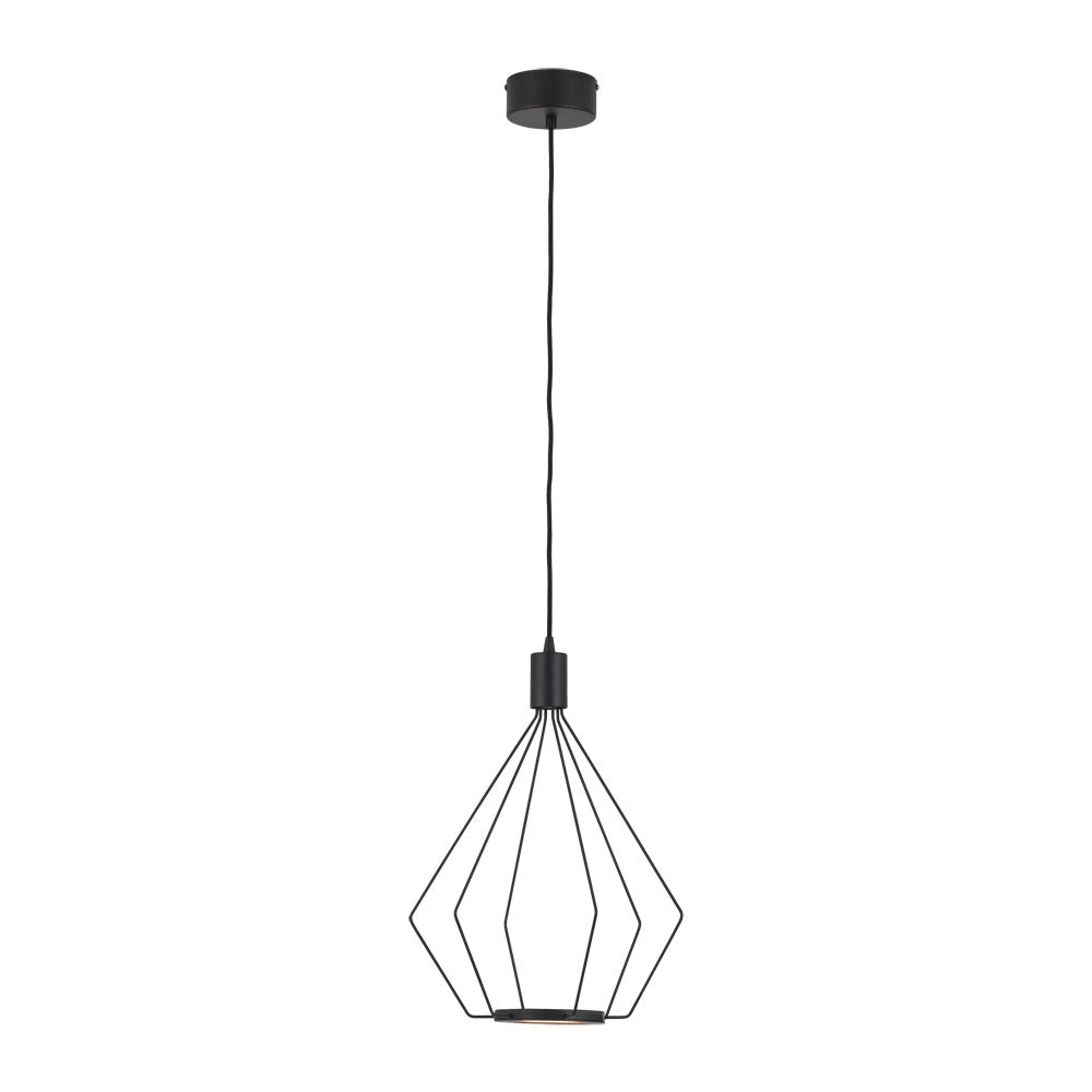 Cados 335 Black Led Cage Pendant