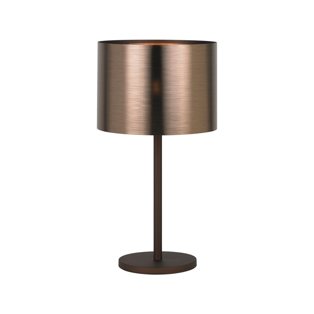 Saganto 1 Brown Copper Table Lamp