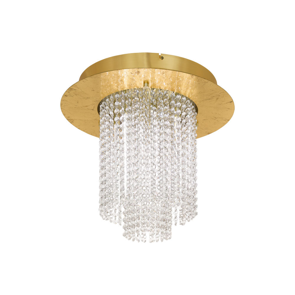 Vilalones Gold Close to Ceiling Crystal
