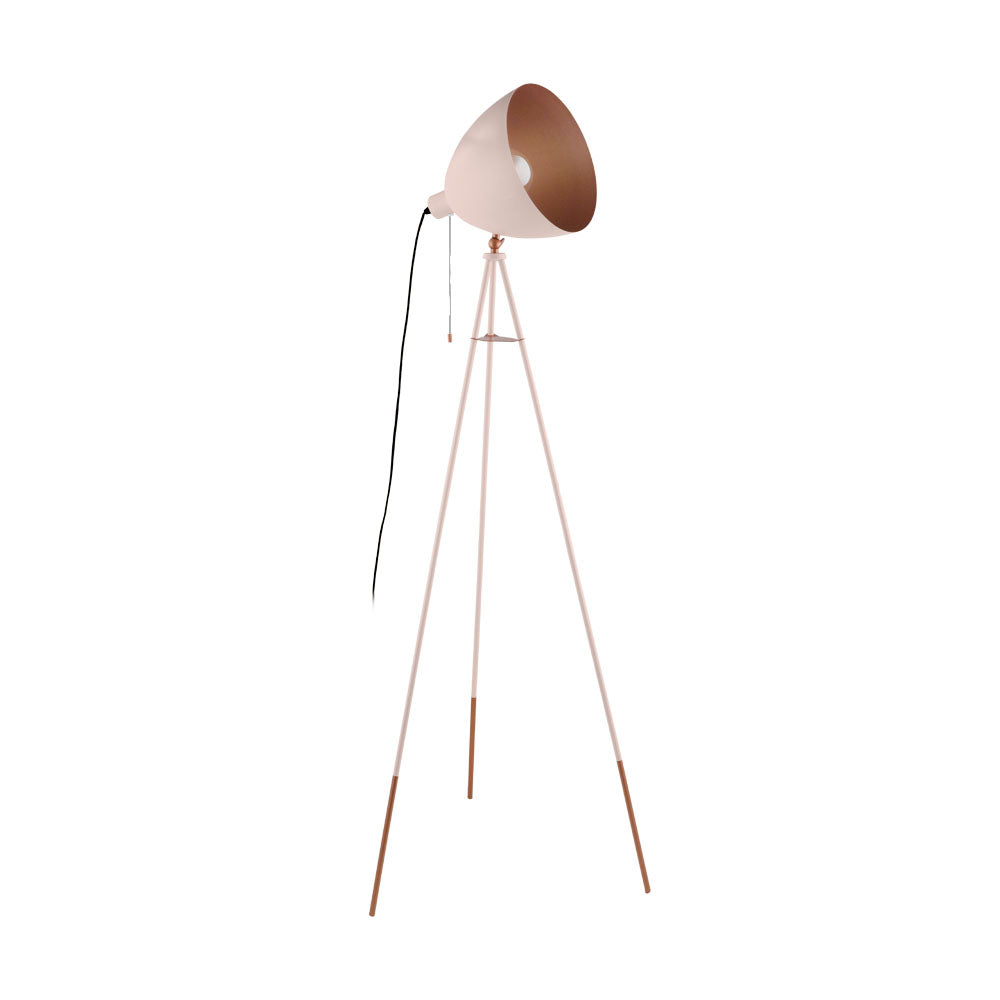 Chester-P Apricot Floor Lamp