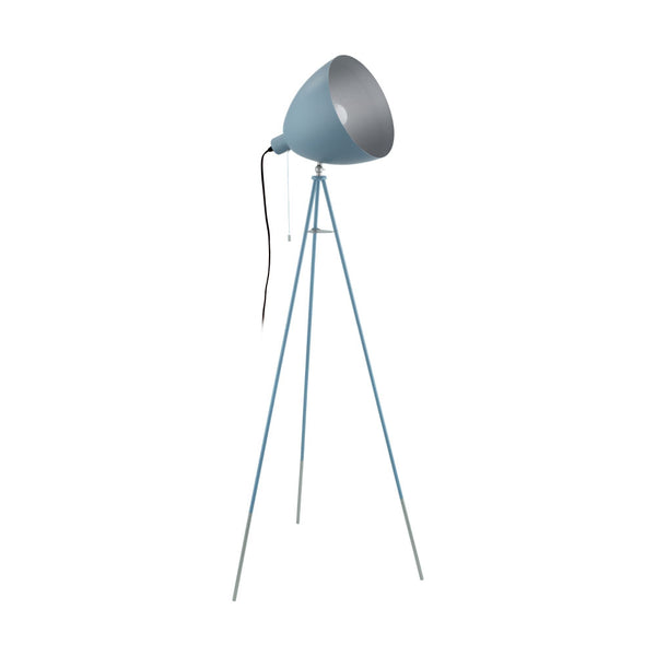 Chester-P Dark Blue Floor Lamp