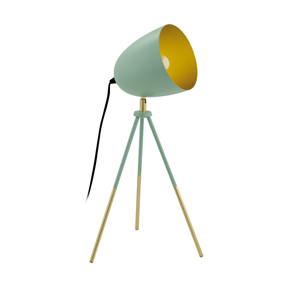 Chester-P Dark Green Table Lamp