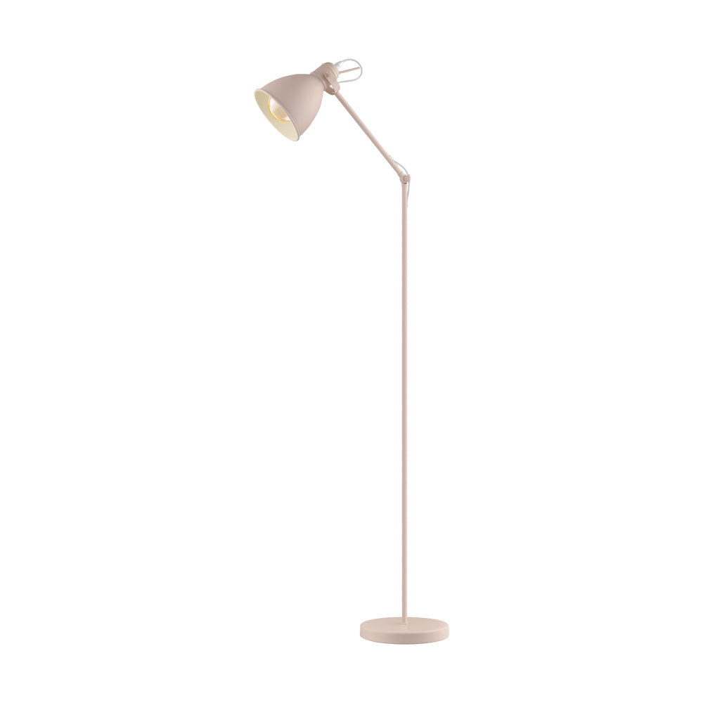 Priddy Pastel Apricot Floor Lamp