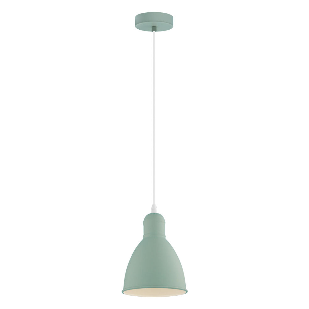 Priddy 155mm Pastel Light Green Pendant