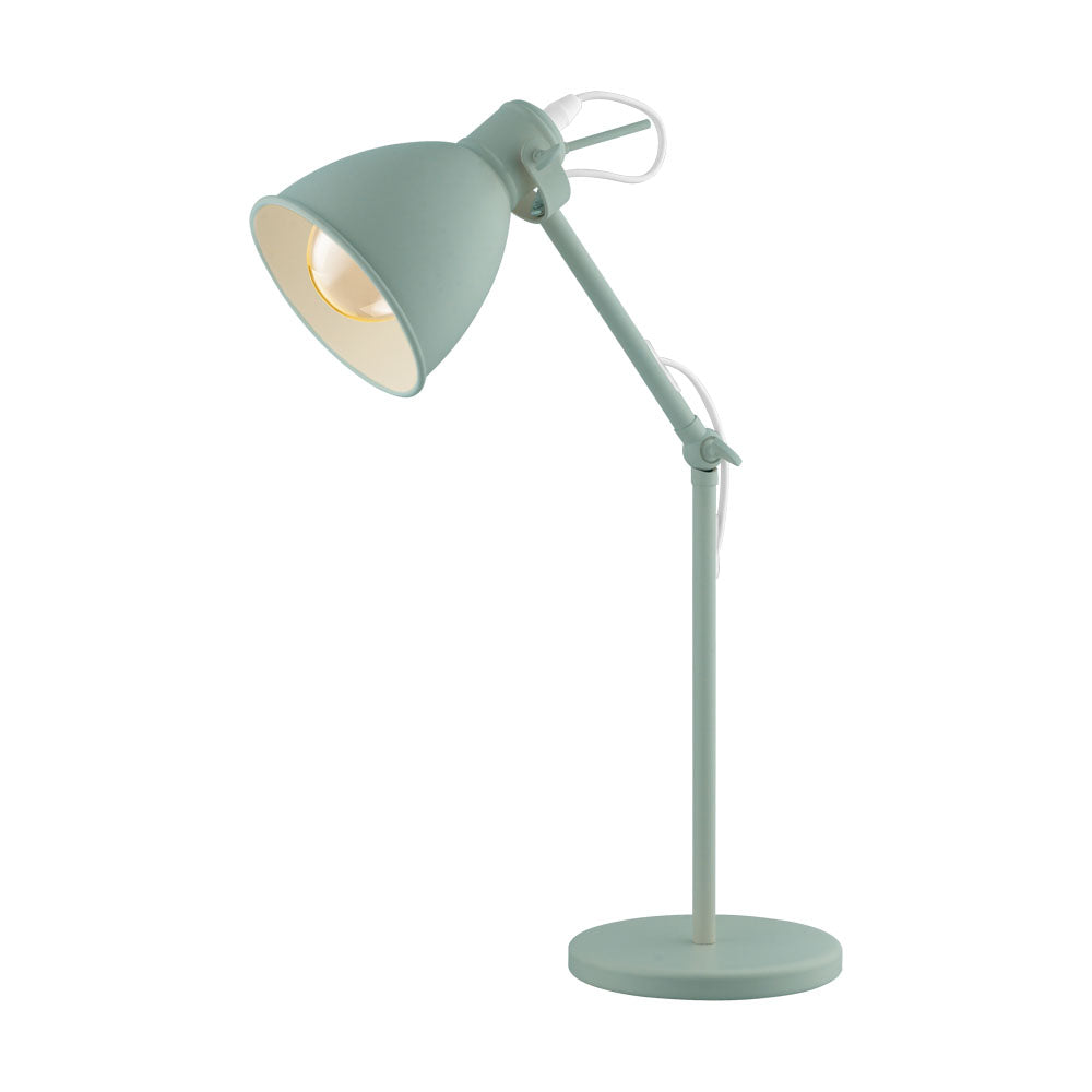 Priddy Pastel Light Green Table Lamp