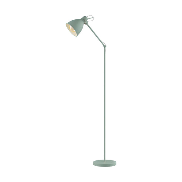 Priddy Pastel Light Green Floor Lamp