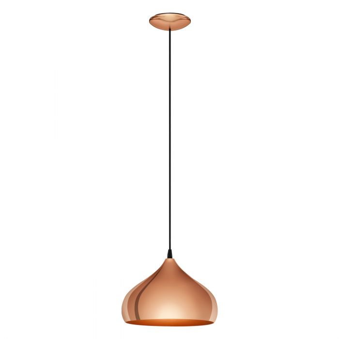 Hapton Copper Dome Industrial Pendant