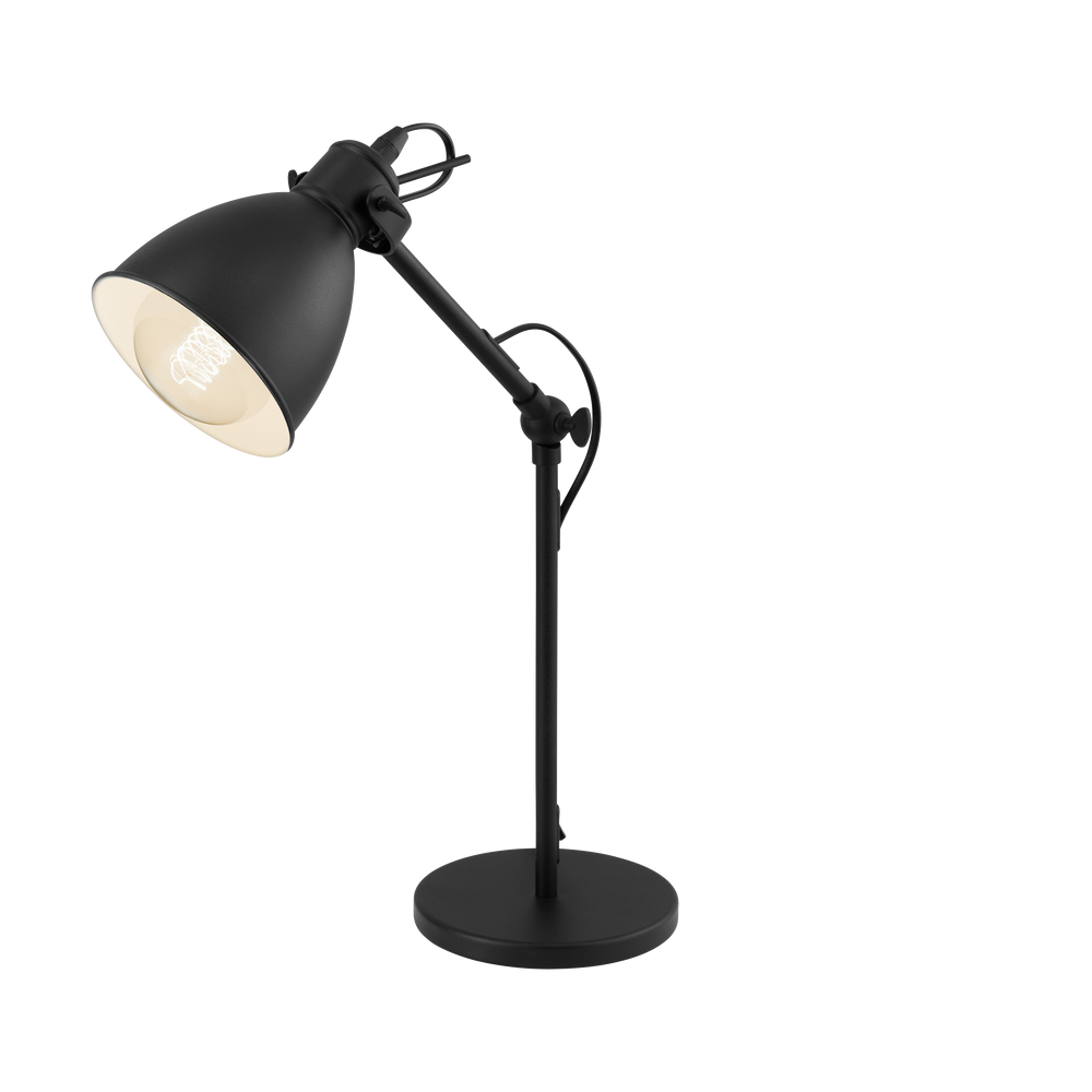 Priddy Black Desk Lamp