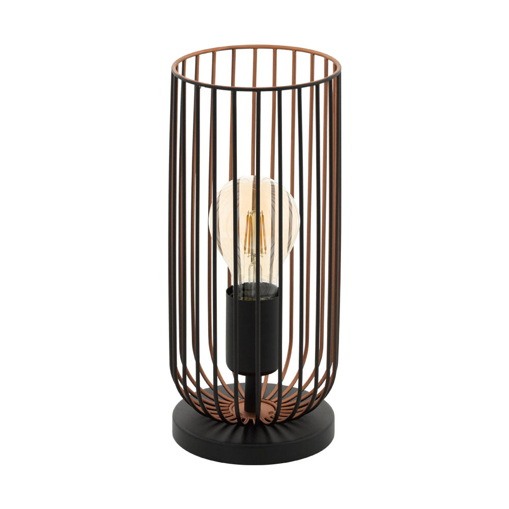 Roccamena Industrial Wire Table Lamp