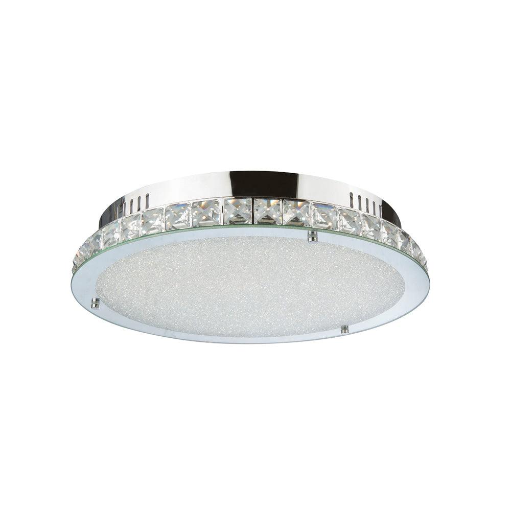 Sparkle 24wt Round Crystal Frame LED Ceiling Light
