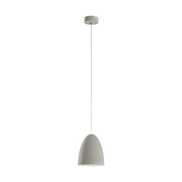 Sarabia Small Grey-wash Steel Cone Pendant