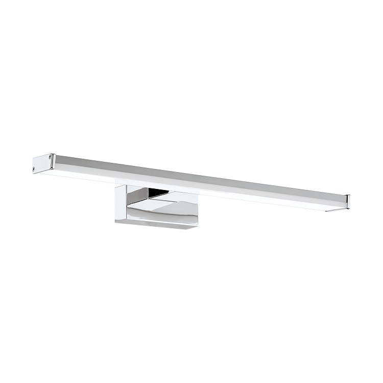 EO 96064 40cm Rectangular Bloc Chrome Vanity Wall Light