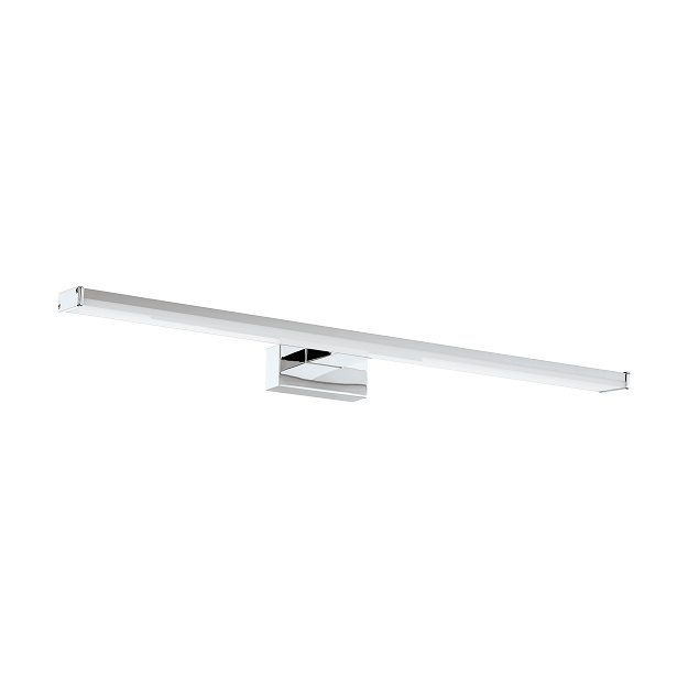 Pandella 60cm Rectangular Bloc Chrome Vanity Wall Light