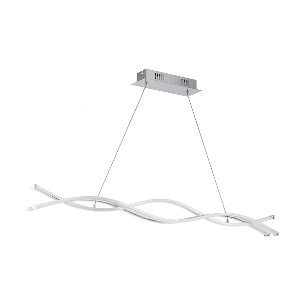 Lasana 2 Triple Wave Helix LED Bar Pendant