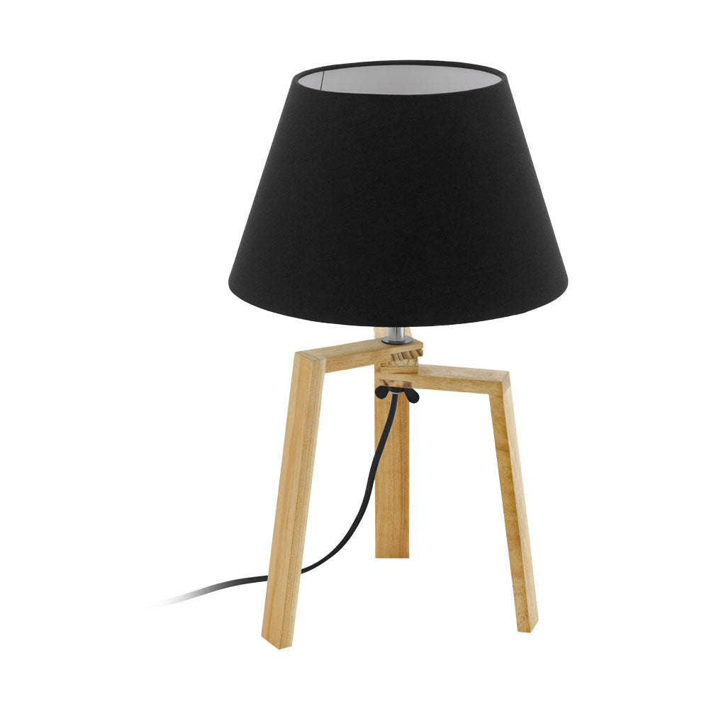 Chietino Timber  Tripod Table Lamp