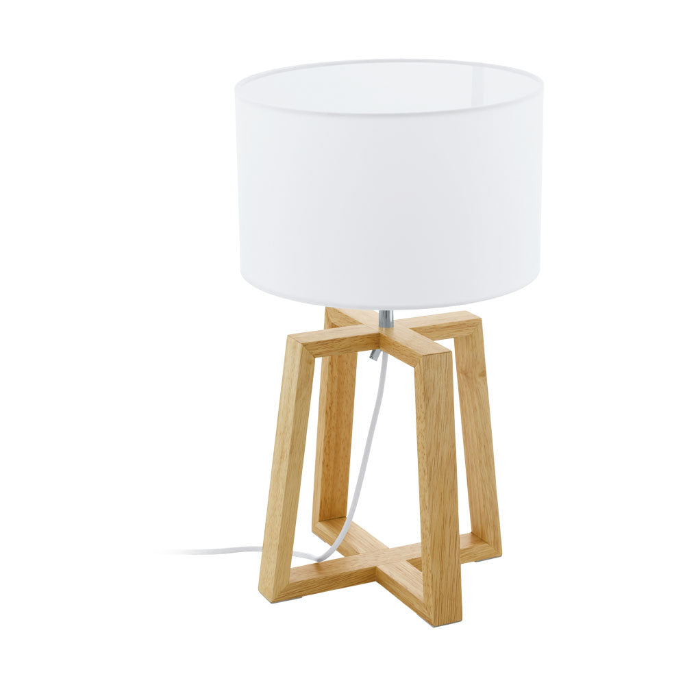 Chietino 1 Timber  Tripod Table Lamp