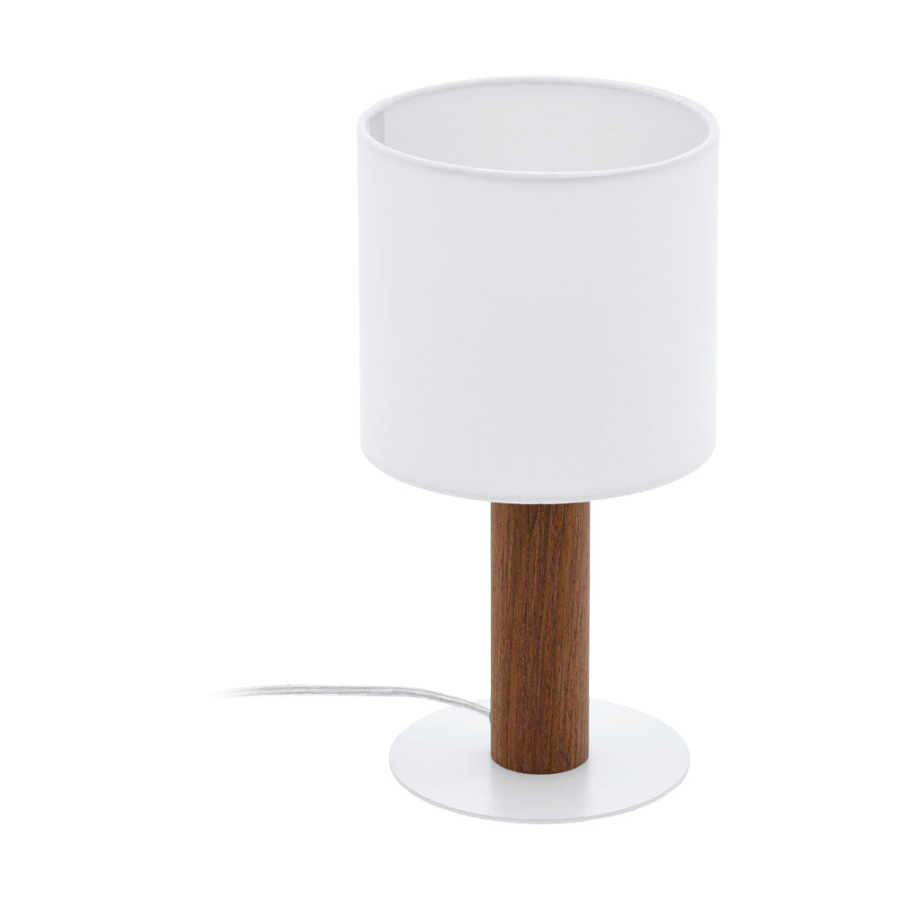Concessa 3 Brown Timber and Table Lamp