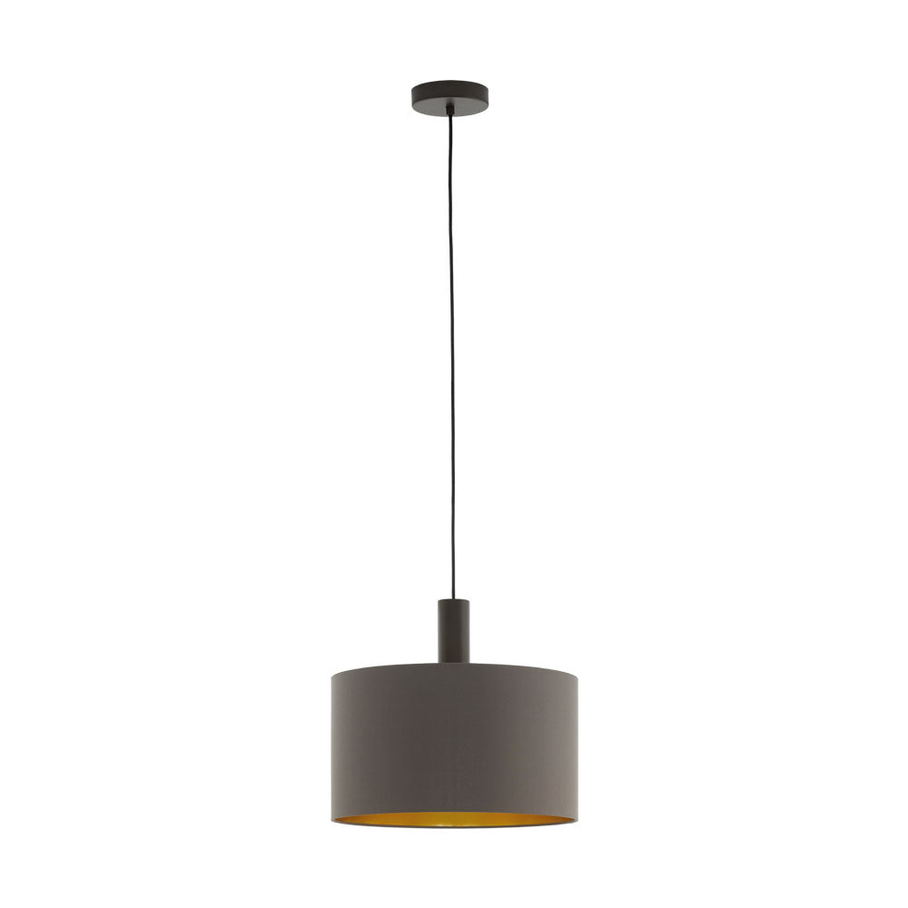 Concessa 1 380 Cappuccino Gold Drum Shade Pendant