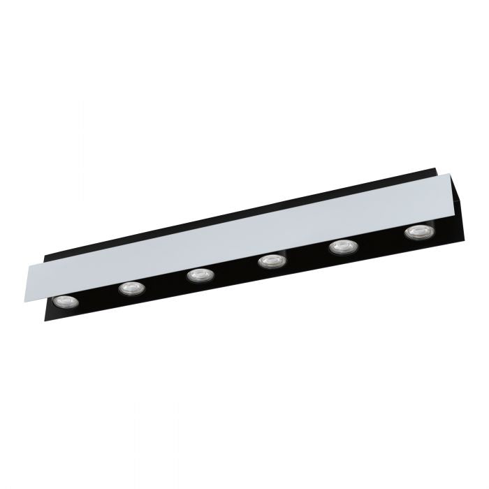 Viserba 6 Light Surface Mount Modern Spotlight
