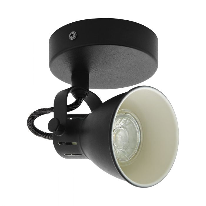 Seras 1 Light Modern Industrial GU10 Spotlight