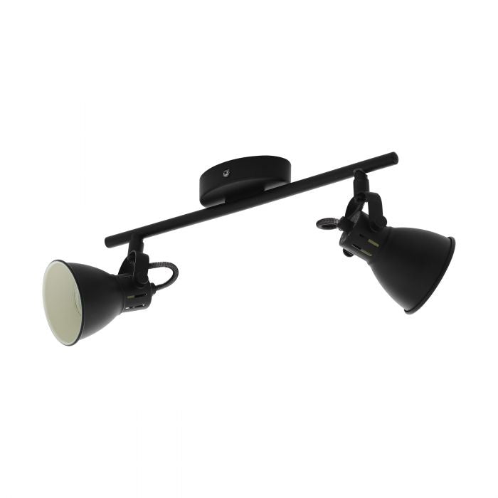 Seras 2 Light Modern Industrial GU10 Spotlight