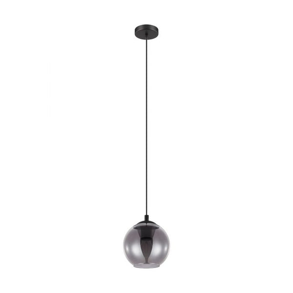 Ariscani 1 Light Smoke Glass Modern Pendant