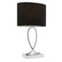 Campbell Small Black Touch Lamp