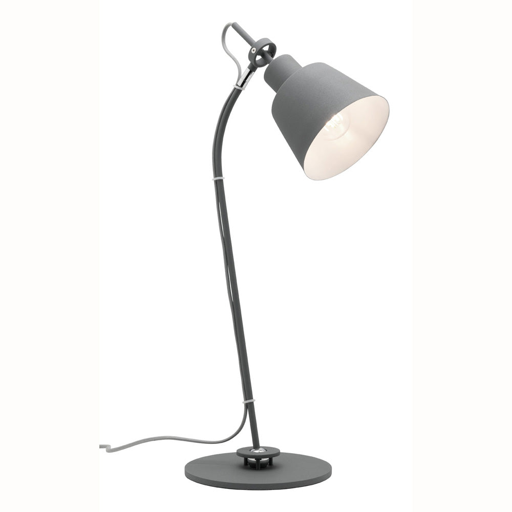 Archie Modern Grey Table Lamp