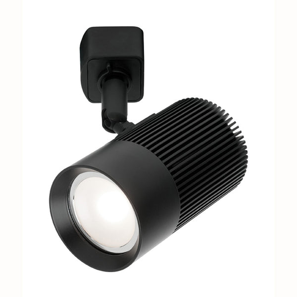 Cowley Black GU10 LED Track Light Head